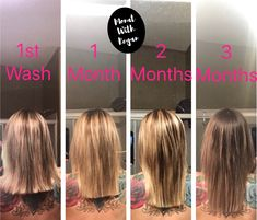 Thyroid problems? Monat saved my hair! Before and after. Contact me for my testimony and products that I used.