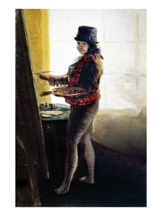 Goya: Self-Portrait  by Francisco Goya