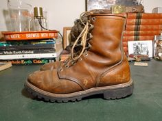 Red Wing Irish Setter Sport Boots - 10 A 1960s USA Made #RedWing #HuntingSport