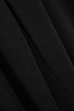 Diane von Furstenberg - Preston Stretch-crepe Wide-leg Pants - Black - US12