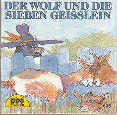 Der Wolf und die sieben Geisslein Pixi Buch Nr. 635 Pixi Serie 78 von Gebrüder Grimm http://www.amazon.de/dp/B005JZA13C/ref=cm_sw_r_pi_dp_MlCIub1J4KRQG