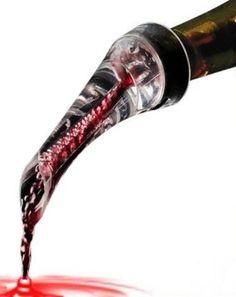 Tri-Color® Aireación Decantador de vino Botella Mini Aireador: Amazon.es: Hogar