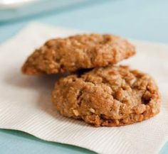 Healthy anzac biscuits | Australian Healthy Food Guide - yum made as a slice for the kids
