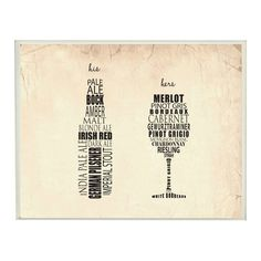 Found it at Joss & Main - His and Hers Wine and Beer Wall Decor