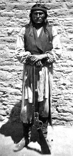 Naiche - Chiricahua Apache - 1877