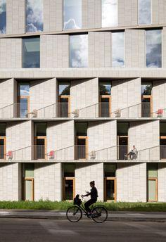 Hotel para pacientes,© Adam Mørk