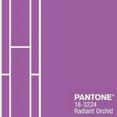 Radiant Orchid Fashion Color Report #Spring2014 @Lola M M McGinnis COLOR