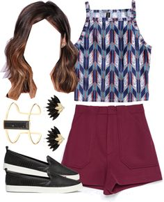 Aria Montgomery inspired outfit for a theme park by liarsstyle featuring a silver bracelet