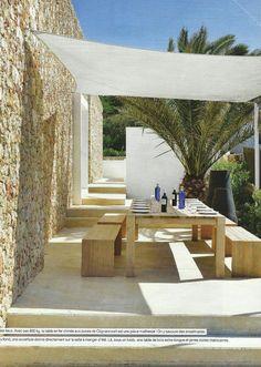 Toldos vela para la decoraci n de terrazas y jardines - Nebulizador casero para terraza ...