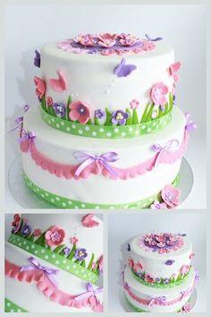 my little girl cake
