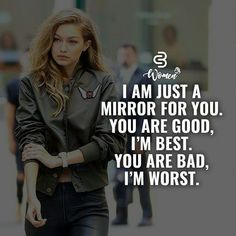 Never let someone change you. You are perfect just the way you are like this some attitude quotes on life. Positive Attitude Quotes, Attitude Quotes For Girls, Crazy Girl Quotes, Strong Girl Quotes, Woman Quotes, Life Quotes, Badass Quotes Women, Classy Quotes, Girly Quotes