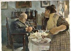 JOSE JIMENEZ ARANDA 1902 UN BIENAVENTURADO ILUSTRACION HOJA REVISTA