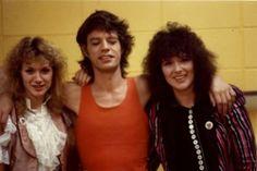 #ThrowbackThursday #TBT Ann & Nancy with #MickJagger