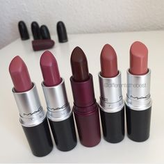 @differentisthebest FALL favorites lipsticks: twig, amorous, eugenie (limited edition), taupe, kinda sexy  #vegas_nay