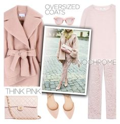 """One Color, Head to Toe"" by ivka-detektivka ❤ liked on Polyvore featuring SLY 010, MaxMara, Charlotte Russe, Carven, Chanel, Karen Walker and monochrome"