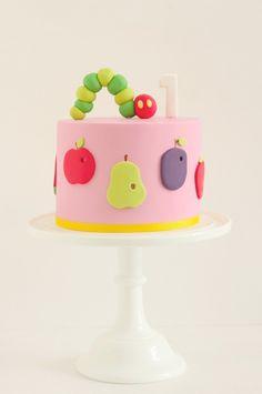 hello naomi Hungry Caterpillar cake.
