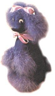 Kitsch Poodle Door Stop - free pattern and tutorial