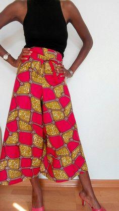 Palazzo, Ankara Stil, Ankara Styles For Women, Shops, Ready To Wear, High Waisted Skirt, Etsy Shop, Vintage, Lady