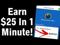 Earn $25 Dollars In 1 Minute RIGHT NOW! (Make Money Online) Quick Money, Make Money Blogging, Make Money From Home, Way To Make Money, Extra Money, Make Money Online, Quick Cash, Money Generator, Free Gift Card Generator