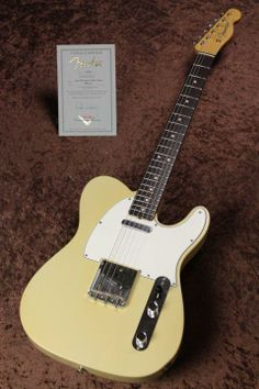 Fender Custom Shop Master Built Series 1963 Telecaster Closet Classic Aged Blonde Built by Dale Wilson