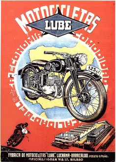 Clasp Garage — Motocicletas Lube