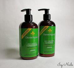 @erikatheicyone loves the sulfat free formula of Dermorganic Daily Conditioning Shampoo and Conditioner
