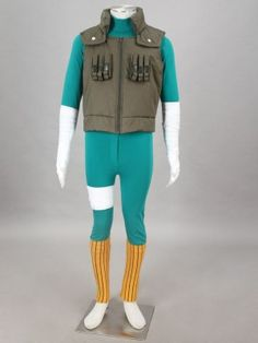 Rock Lee Cosplay Costume 5 Sets For Sales