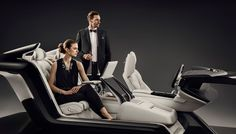 Volvo Redefines the Luxury Sedan with the Console Concept