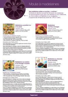 Fiche recette: Moule à madeleines