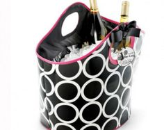 Monogrammed Insulated Cooler Tote Bag - Personalized Cooler Bag