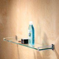 "Motiv 3018T-24-SN Frame 24"" Tempered Glass Shelf by Motiv. $142.50. Motiv 24"" Tempered Glass ShelfFrame CollectionConvenient Storage SpaceTempered Glass"