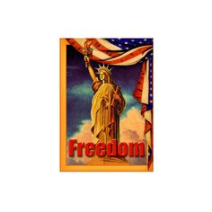 Statue Liberty Freedom Giclee Print Wall Art ($40) ❤ liked on Polyvore featuring home, home decor, wall art, 101 dalmatians, entertainment, family films, family films by title, movies, movies by genre and giclee wall art