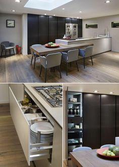 #ForSale #ExDisplay #DesignSpace #DesignSpaceLondon #London #Modulnova #ModulnovaBlade #Gaggenau #InteriorDesign #ItalianDesign Gaggenau, Conference Room, London, Interior Design, Kitchen, Table, Furniture, Ideas, Home Decor