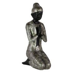 Urban Trends Resin Kneeling Buddha Sculpture - 24811