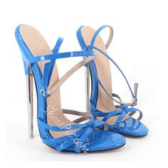 Shoespie Elegant Metal Buckles Dress Sandals