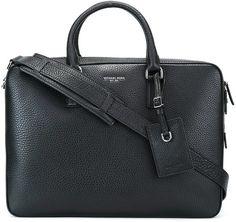 Michael Kors 'Lyta' laptop bag Michael Kors Men, Laptop Case, Black Leather, Mens Fashion, Hand Bags, Shopping, Shoulder Bags, Moda Masculina, Man Fashion