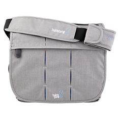Buy BabaBing Deluxe Daytripper Paternity Satchel, Grey online at JohnLewis.com - John Lewis
