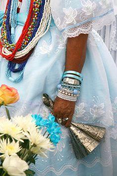 O dia hoje é dela. Odoyá Iemanjá Attended Festa de Yemanjá Salvador da Bahia 1994. ODO YA
