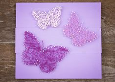Hey, I found this really awesome Etsy listing at https://www.etsy.com/listing/246169117/butterfly-trio-string-art