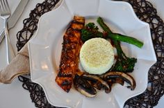 Fresh Cooking=Happy People: Grilled Hoisin Ginger Teriyaki Salmon With Grilled Portobellas And Broccolini This meal was a hit! This sauce is KILLER! You could use it on any meat or veggie stir fry too, and it would be dang good! Enjoy!