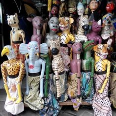 Indonesia animal puppet #art #culture #puppet