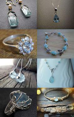 March Aquamarine Jewelry
