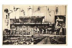 1920 MINOT, NORTH DAKOTA NORTHWEST FAIR VIEWS