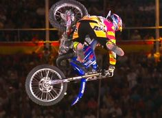 TOM PAGES IS THE THE FIRST EVER TO LAND PERFECTLY ON BIKEFLIP! RED BULL X FIGHTERS WON!