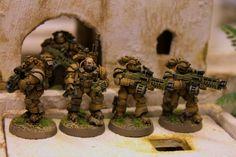 Astartes SpecOps Armee // WAR HEAD: Hawkeyes und doorkickers //Juhan Mentors _02