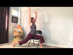 Developed by the therapists in the Chronic Pain Service at Toronto Rehab, Rumsey Centre. This 25 minute chair yoga routine was created to provide you with a ...