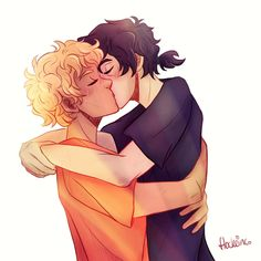 Solangelo ❤>>>> Nico's little pont tail