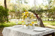 Yellow Wedding Ideas {Vintage}