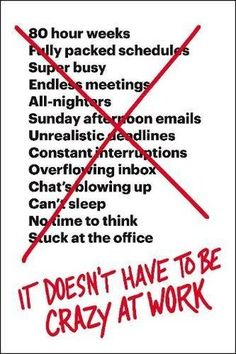 It Doesn T Have To Be Crazy At Work By Jason Fried Read Book Online Free Electronic These And Dissertation Download