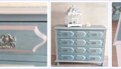 Como actualizar una cómoda vintage/How to update a vintage chest of drawers   Bohemian and Chic